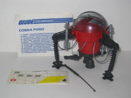 Cobra Pogo Ballistic Battle Ball (1987) w/ Inst - G.I Joe